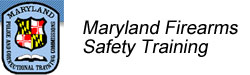 Maryland Firearms Safety Training
